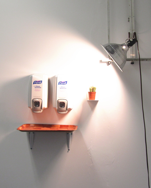display double sanitizer
